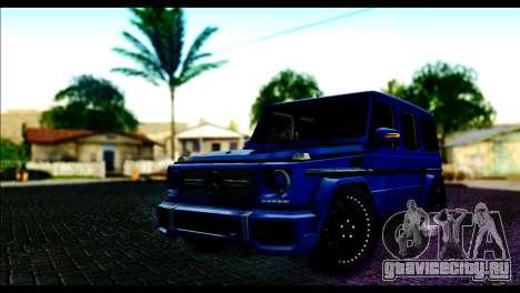 Merсedes-Benz G65 AMG для GTA San Andreas