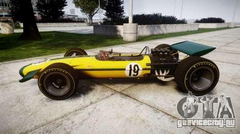 Lotus Type 49 1967 [RIV] PJ19-20 для GTA 4 вид слева