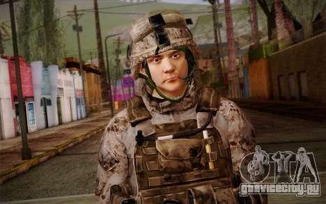 Chaffin from Battlefield 3 для GTA San Andreas третий скриншот