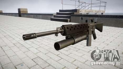 Винтовка M16A2 M203 sight2 для GTA 4