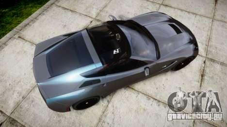 Chevrolet Corvette Stingray C7 2014 для GTA 4 вид справа