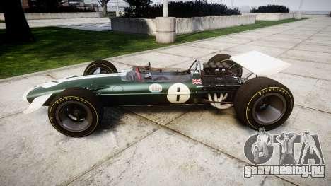 Lotus Type 49 1967 [RIV] PJ1-2 для GTA 4 вид слева