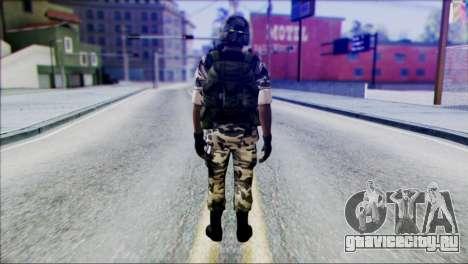 Hecu Soldier 2 from Half-Life 2 для GTA San Andreas второй скриншот