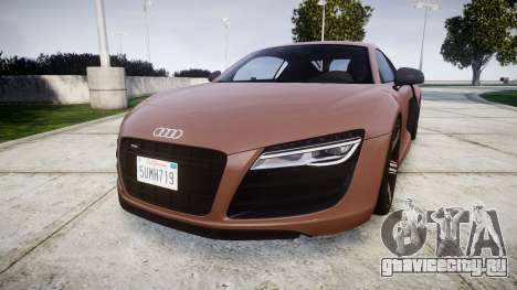 Audi R8 plus 2013 Wald rims для GTA 4