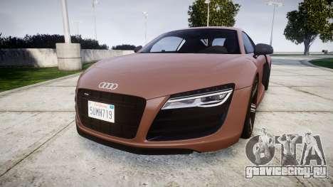 Audi R8 plus 2013 Wald rims для GTA 4