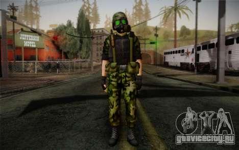 Hecu Soldier 3 from Half-Life 2 для GTA San Andreas