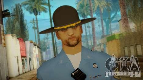 Missouri Highway Patrol Skin 2 для GTA San Andreas третий скриншот