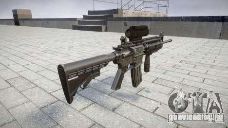 Автоматический карабин M4 Sirs Tactical target для GTA 4 второй скриншот