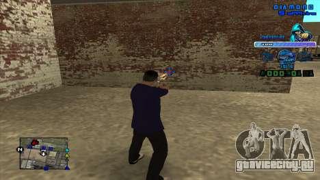 C-HUD Ghetto Life для GTA San Andreas третий скриншот
