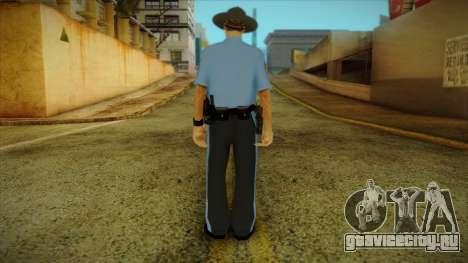 Missouri Highway Patrol Skin 2 для GTA San Andreas второй скриншот