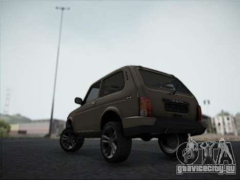 Lada Urdan для GTA San Andreas вид сзади