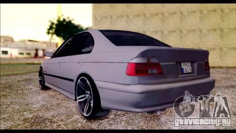 BMW 520d 2000 для GTA San Andreas вид слева