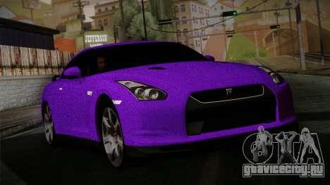 Nissan GTR-R35 для GTA San Andreas