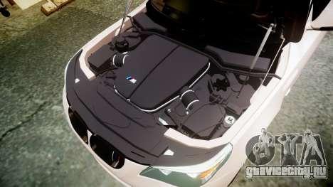 BMW M5 E60 v2.0 Wald rims для GTA 4 вид сбоку