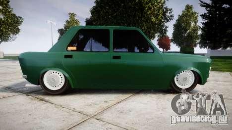 Fiat 128 Berlina для GTA 4 вид слева