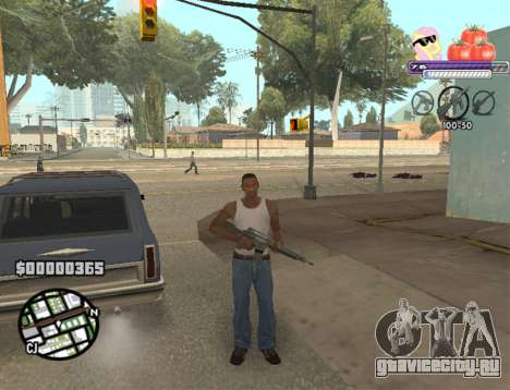 C-HUD Pony and Pomidors для GTA San Andreas третий скриншот