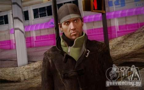 Aiden Pearce from Watch Dogs v8 для GTA San Andreas третий скриншот