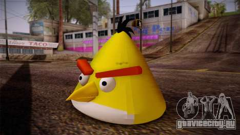 Yellow Bird from Angry Birds для GTA San Andreas