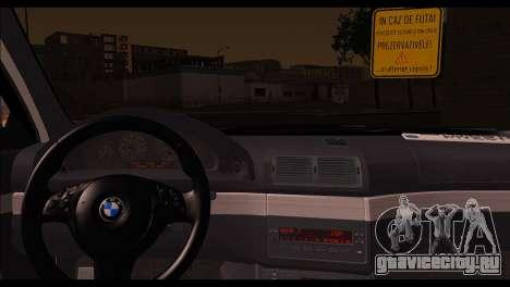 BMW 520d 2000 для GTA San Andreas вид сзади слева