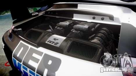 RUF RGT-8 GT3 [RIV] Der Kuhler для GTA 4 вид сбоку