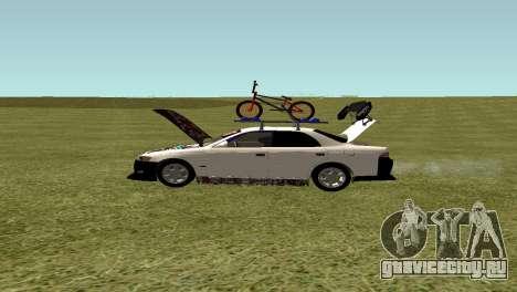 Toyota Mark 2 для GTA San Andreas вид справа