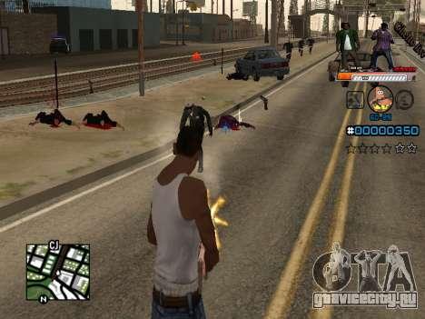 C-HUD Ghetto Live для GTA San Andreas второй скриншот