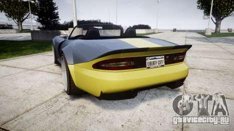 Bravado Banshee ESP для GTA 4 вид сзади слева