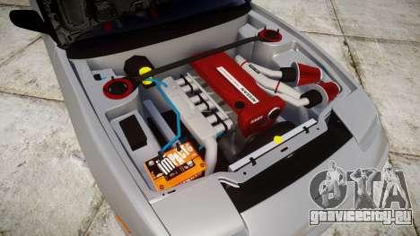 Nissan 240SX SE S13 1993 Sharpie для GTA 4 вид изнутри