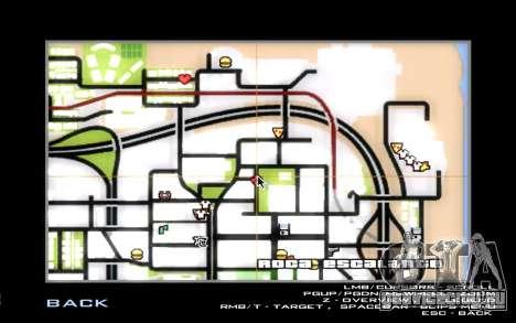 Оживление LVPD для GTA San Andreas седьмой скриншот