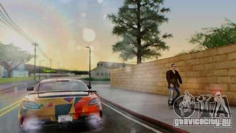 Santo ENB v4 Reffix для GTA San Andreas второй скриншот