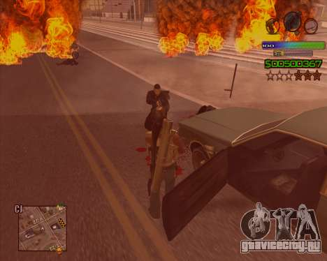 C-HUD Simple для GTA San Andreas третий скриншот