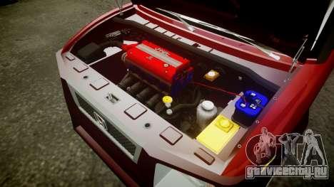 Honda Element 2005 для GTA 4 вид изнутри
