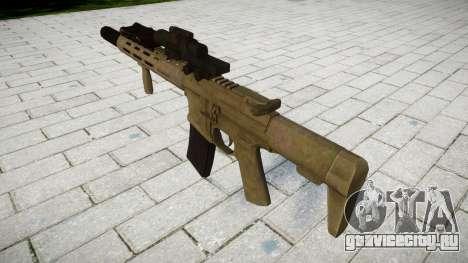 Штурмовая винтовка AAC Honey Badger [Remake] tar для GTA 4 второй скриншот