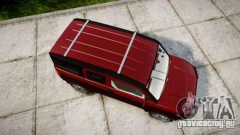 Honda Element 2005 для GTA 4 вид справа