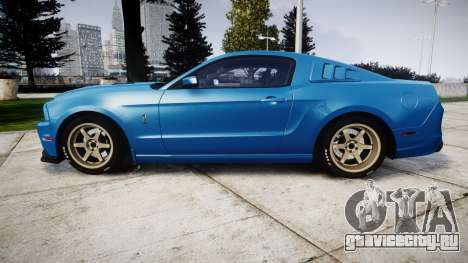Ford Mustang Shelby GT500 2013 для GTA 4 вид слева