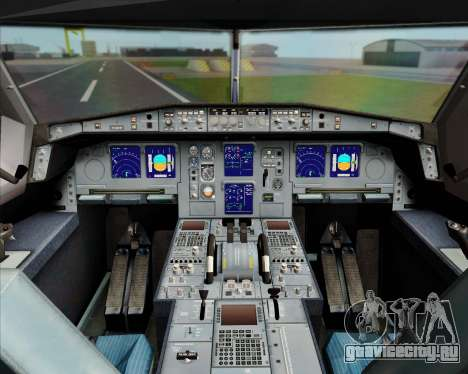 Airbus A330-300 Turkish Airlines для GTA San Andreas салон