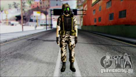 Hecu Soldier 1 from Half-Life 2 для GTA San Andreas