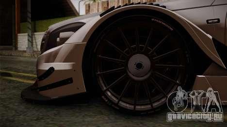Mercedes-Benz C-Coupe AMG DTM для GTA San Andreas вид сзади слева