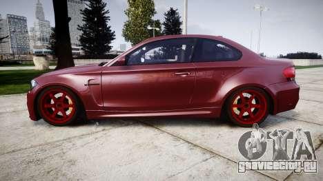 BMW 1M 2011 для GTA 4 вид слева