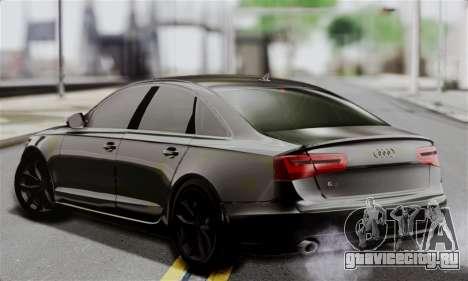Audi A6 (C7) для GTA San Andreas вид слева