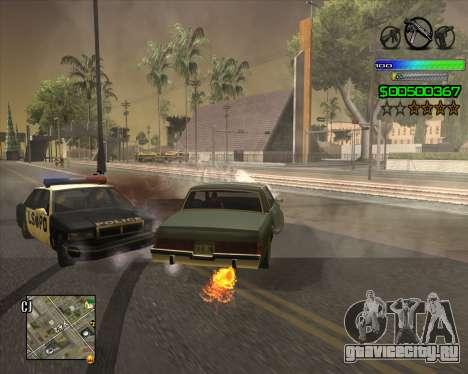 C-HUD Simple для GTA San Andreas четвёртый скриншот