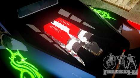 Ferrari 458 Italia 2010 v3.0 Slipknot для GTA 4 вид сбоку