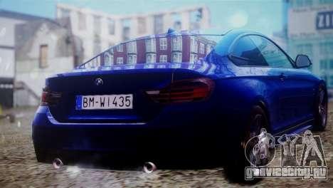 BMW 435i для GTA San Andreas вид слева