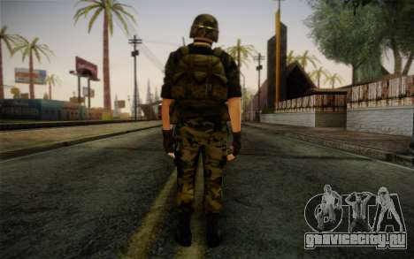 Hecu Soldier 3 from Half-Life 2 для GTA San Andreas второй скриншот