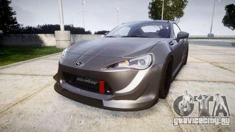 Subaru BRZ 2011 для GTA 4