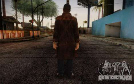 Aiden Pearce from Watch Dogs v6 для GTA San Andreas второй скриншот