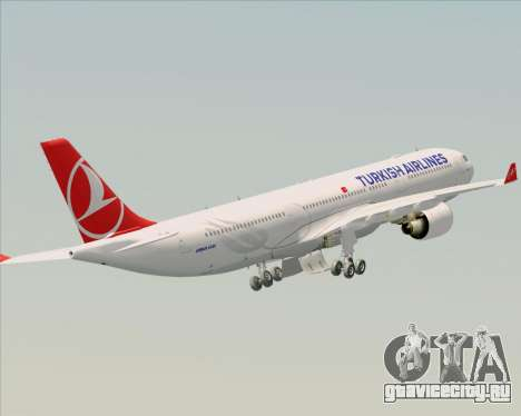 Airbus A330-300 Turkish Airlines для GTA San Andreas