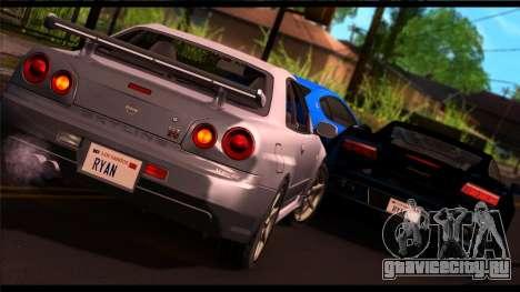 Forza Silver ENB для средних ПК для GTA San Andreas второй скриншот