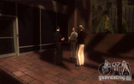 Оживление LVPD для GTA San Andreas пятый скриншот