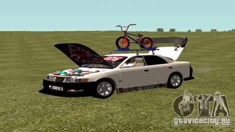 Toyota Mark 2 для GTA San Andreas вид слева